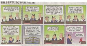 Dilbert - innovatie