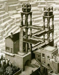 Escher - Waterval